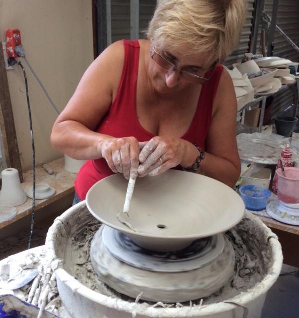 Art in the Afternoon - Liz Clark, Ceramicist