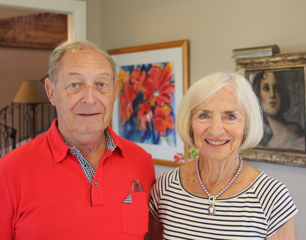 Art at Home - Peter and Jennifer Glausiuss -An eclectic art collection