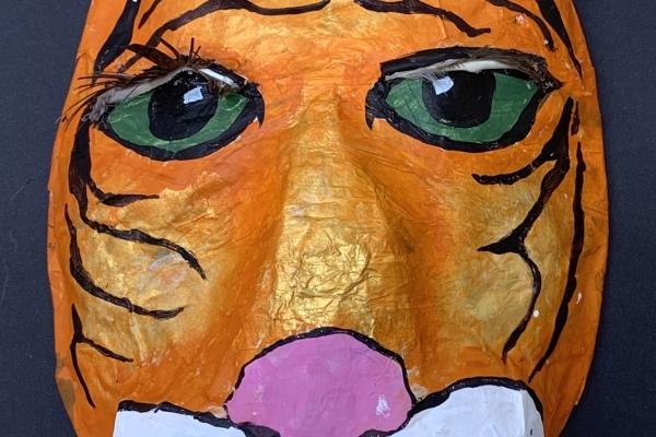 Art Studio for Chidren: Wild Wall Sculpture