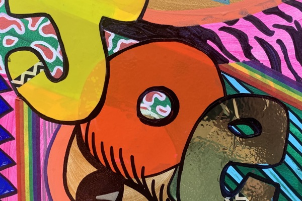 Art Studio for Children 7 – 10 years: Pop Letters